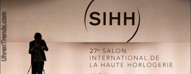 SIHH 2017 Uhrenmesse in Genf, um weitere Marken & Besucher-Tag zu umfassen