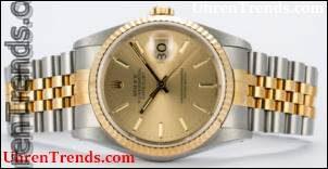 Ein Beispiel für eine Rolex Datejust 'Awards für Unternehmen' Trophy Watch