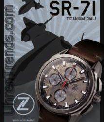 Zelos Experimentelle Schweizer Auto Chronograph Uhr