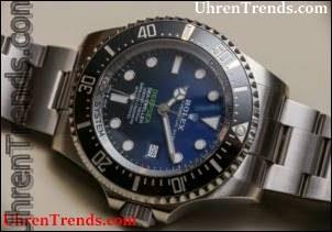 Rolex Deepsea Sea-Dweller 126660 D-Blau Uhr Hands-On