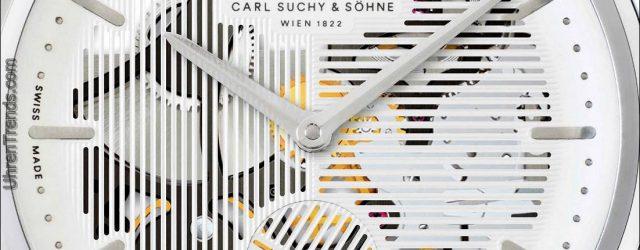 Carl Suchy & Söhne Walzer No. 1 Skeleton Uhr