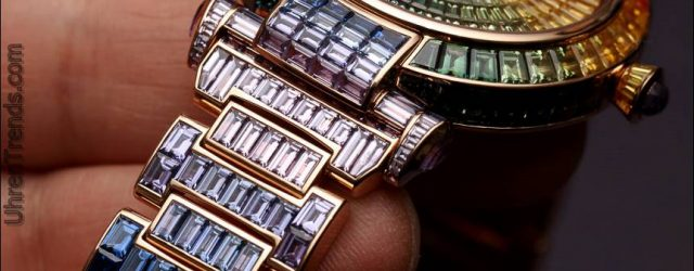 Chopard Imperiale Joaillerie Regenbogen Uhr Hands-On