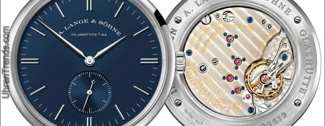 A. Lange & Söhne 1815 Rattrapante Ewiger Kalender Handwerkskunst & Blue Series Uhren