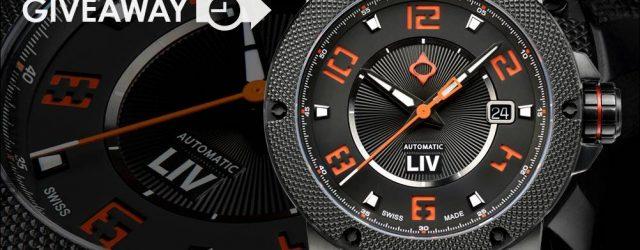 UHR GIVEAWAY: LIV GX1 Automatisch