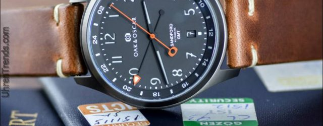 Oak & Oscar Sandford GMT Uhr angekündigt