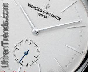 Vacheron Constantin Patrimony Kollektion Excellence Platin Uhr