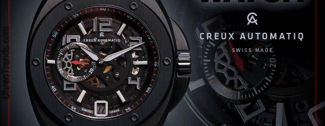 UHR GIVEAWAY: Creux Automatiq CA-02 Geisterschatten-automatische Uhr