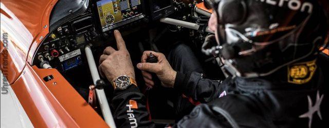 Hamilton dient als offizieller Zeitnehmer bei der Red Bull Air Race Weltmeisterschaft 2018