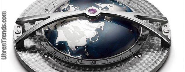Arnold & Sohn Globetrotter Worldtimer Uhr