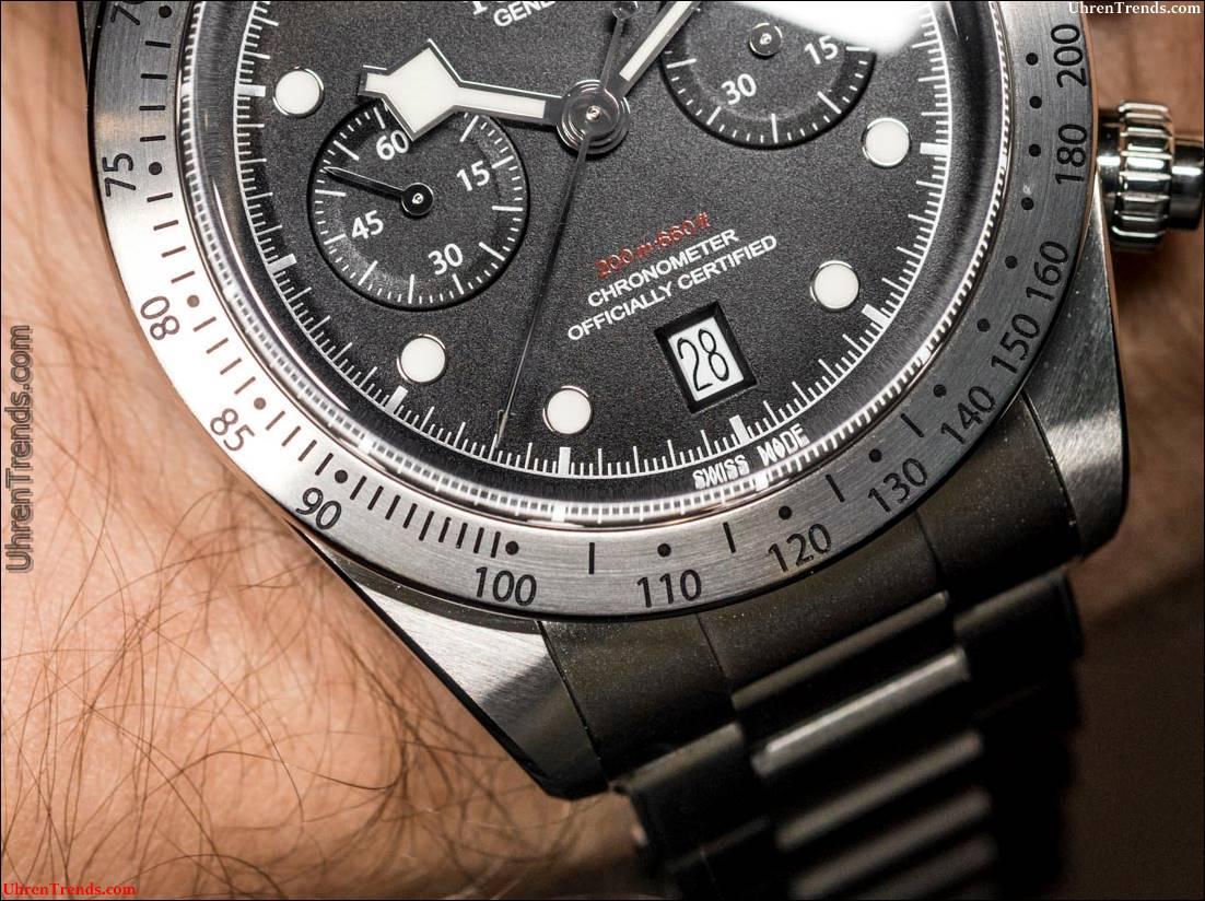 Tudor Heritage Black Bay Chronograph Uhr Hands-On