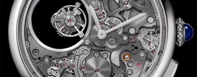 Cartier Rotonde De Cartier Minutenrepetition Mysterious Double Tourbillon Uhr