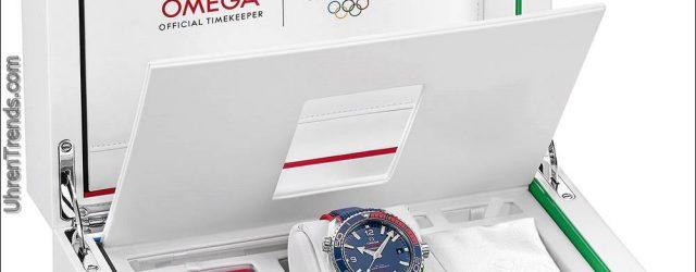 "Omega Seamaster Planet Ozean ""PyeongChang 2018"" Olympische Spiele"