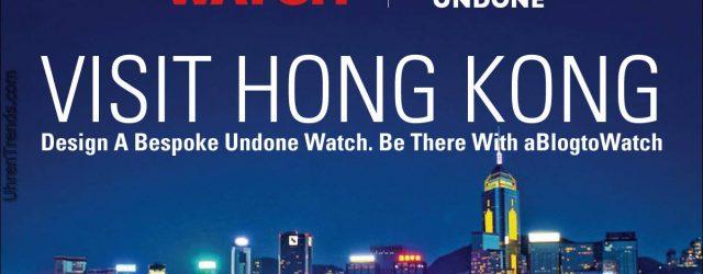 Gewinner angekündigt: Besuchen Sie Hong Kong, um eine einzigartige Uhr zu machen
