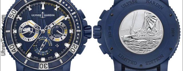 Ulysse Nardin Taucher Chronograph Artemis Racing Watch
