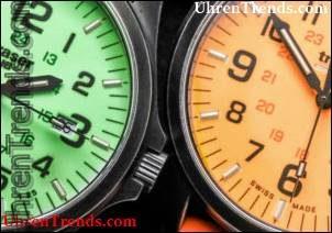 Traser P67 Offizier Pro Gun Metal Lime & Orange Uhren Hands-On