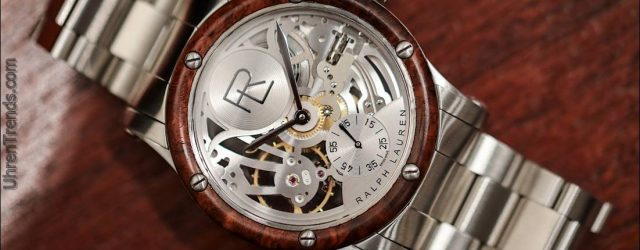 Ralph Lauren Automotive Skeleton Stahl Uhr Hands-On