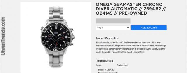 Wie man Uhren auf Touch Of Modern kauft