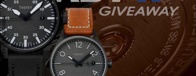 Gewinner angekündigt: Tsovet SMT-RS40 oder SMT-FW44 automatische Uhr Werbegeschenk