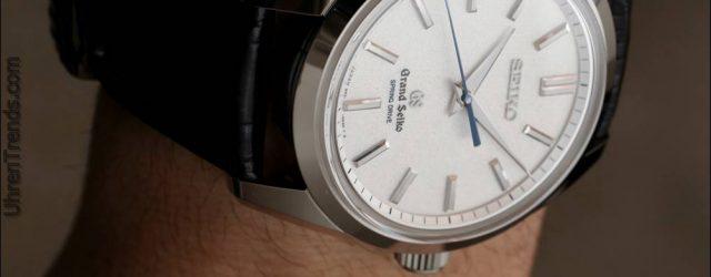Grand Seiko SBGD001 Spring Drive 8 Tage Gangreserve Watch sendet eine klare Botschaft in die Schweiz
