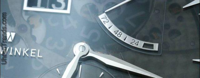 Zeitwinkel 273 ° Saphir Fumé Uhr Hands-On