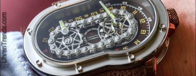 Azimuth SP-1 Crazy Rider 'Fahrradkette' Uhr Hands-On