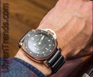 Panerai Luminor Unterwasser-1950 3 Tage Automatik Acciaio & Oro Rosso 42mm Uhren Hands-On