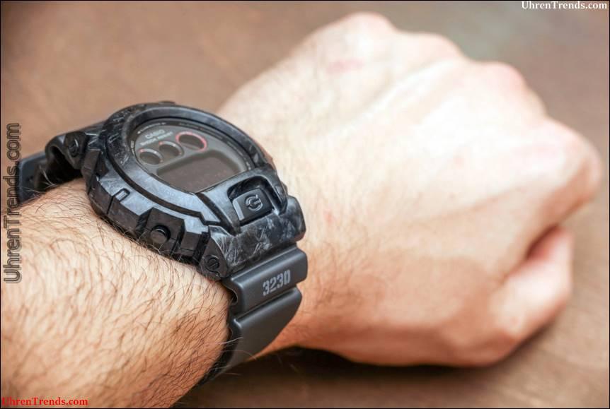 Casio G-Shock DW6900 mit geschmiedetem Carbon Armor Case von Alvarae Watch Review