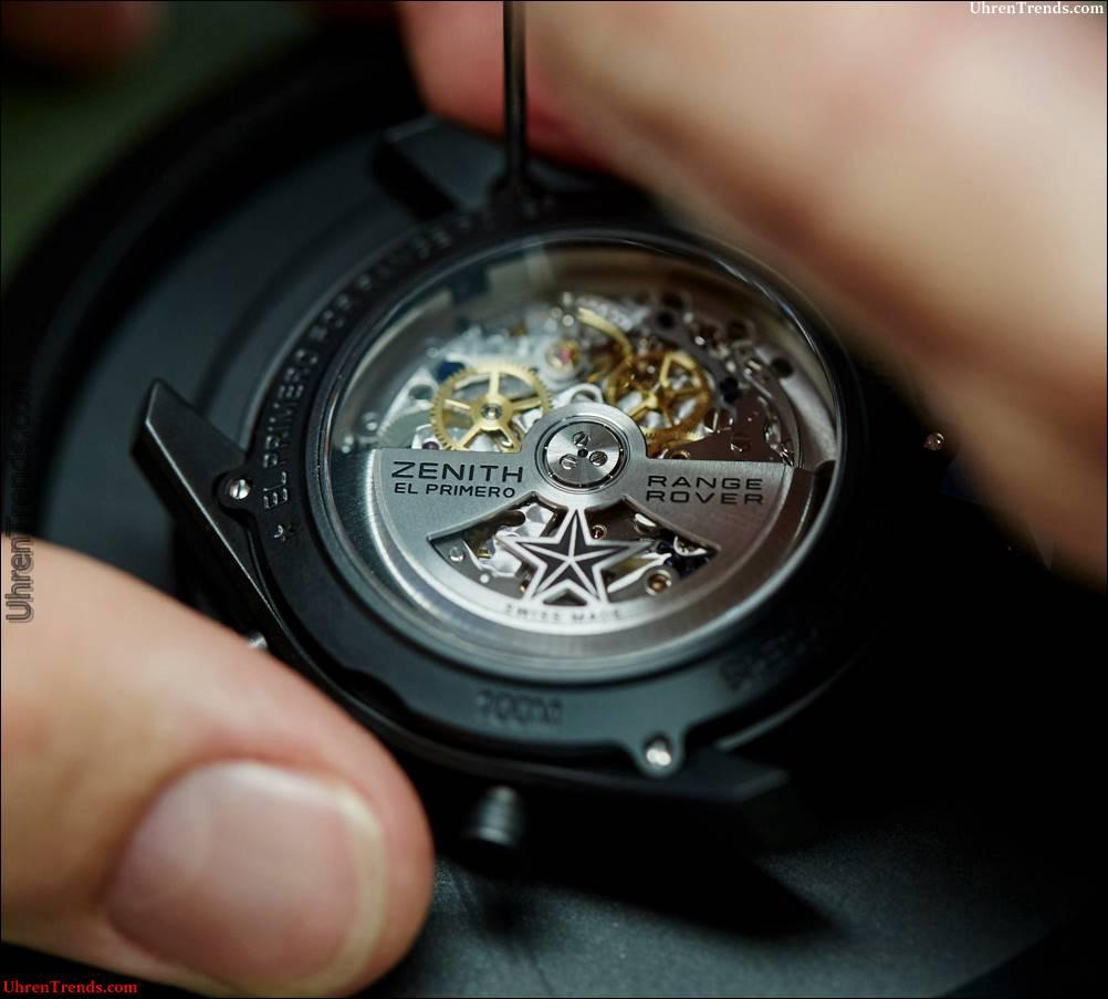 Zenith El Primero Range Rover Uhren debütiert offizielle Beziehung mit Land Rover