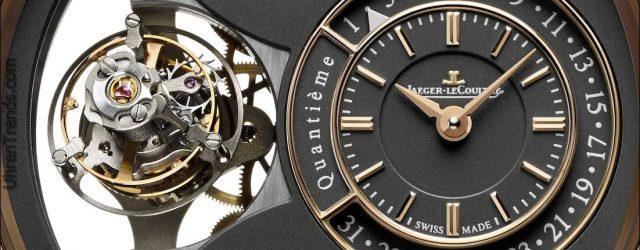 Jaeger-LeCoultre Duomètre Uhren mit Magnetit Gray Zifferblätter