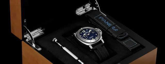 Panerai Luminor Tauchautomatische Acciaio PAM731 'E-Commerce Micro-Edition' Uhr