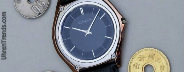 Citizen Eco-Drive One Watch: Light Powered & weniger als 3mm am Handgelenk
