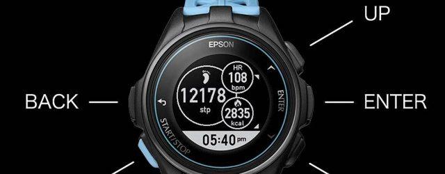 Seiko wird bald die Fitness-Themen Epson J-300 Serie GPS Sportuhr nach Nordamerika bringen