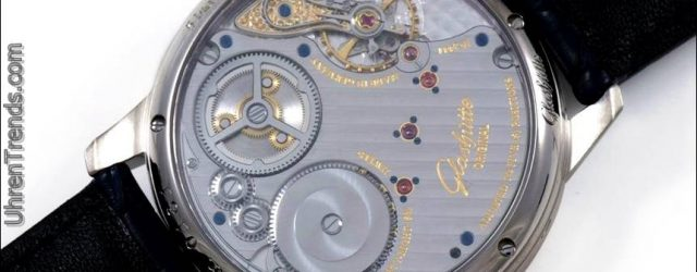 Glashütte Original Senator Chronometer Blaue Uhr