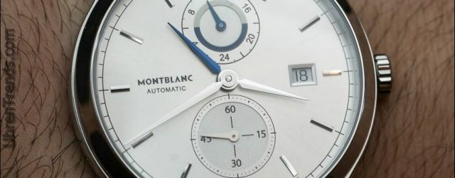 Montblanc Chronométrie Dual Time Uhr Hands-On