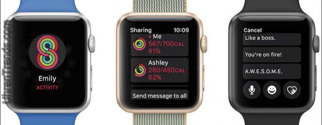Apple WatchOS 3 konzentriert sich stark auf Fitness, Hardware-Performance und natürlich Timing