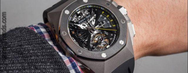 Audemars Piguet Royal Oak Concept Chronographen-Uhr mit Selbstbeobachtung Tourbillon Hands-On