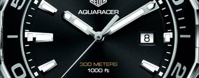 TAG Heuer Aquaracer 300m Quarzuhr im 43mm Gehäuse