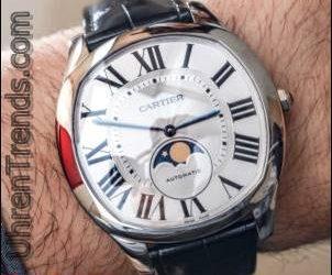 Cartier Drive De Cartier Mond Phasen & Drive De Cartier Extra-Flache Uhren Hands-On