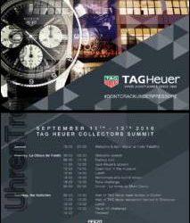 TAG Heuer Autavia Uhr für 2017 Vorschau auf Heuer Collectors Summit