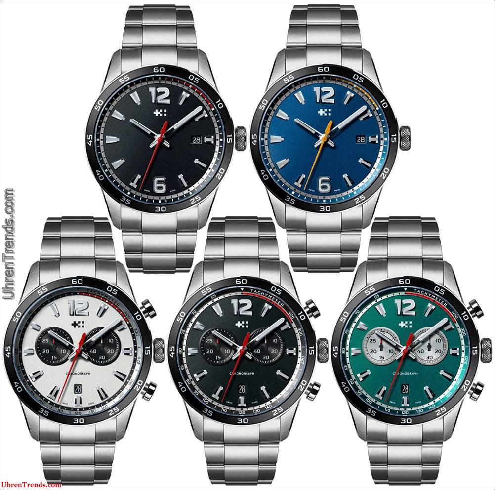 Christopher Ward C7 Rapide Kollektion Uhren