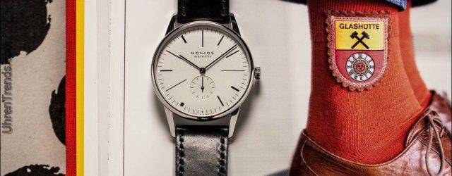 Nomos Limited Edition Orion '100 Jahre De Stijl' Uhr für Ace Jewellers