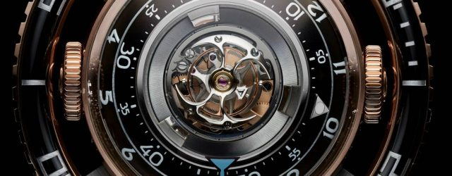 MB & F HM7 Aquapod Tourbillon Taucheruhr