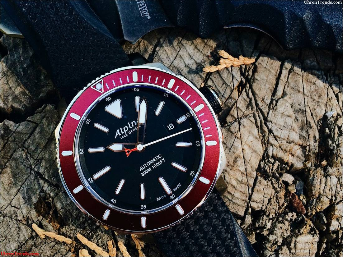 Alpina Seastrong Diver 300 Automatische Uhr Bewertung