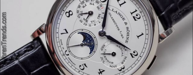 A. Lange & Söhne 1815 Jahreskalender Uhr Hands-On
