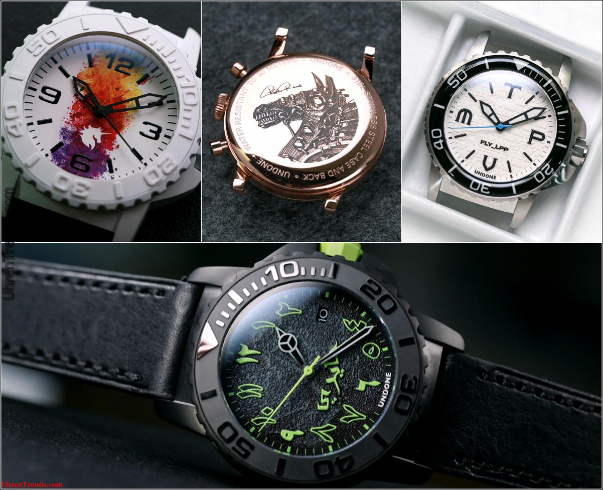 Undone Watches: Custom Watchmaking zu einem realen Preis