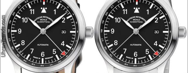 Mühle-Glashütte Terrasport IV GMT Uhr