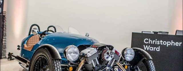 Christopher Ward beobachtet Partner mit der Morgan Motor Company