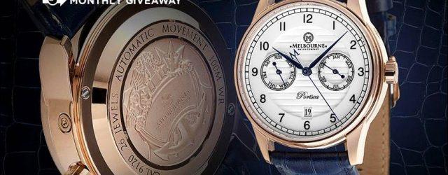 LETZTE CHANCE: Melbourne Watch Company Portsea automatische Uhr Werbegeschenk