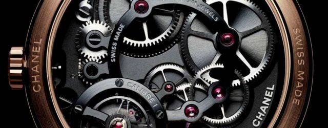 Monsieur De Chanel Uhr für Männer jetzt in Platin für 2017