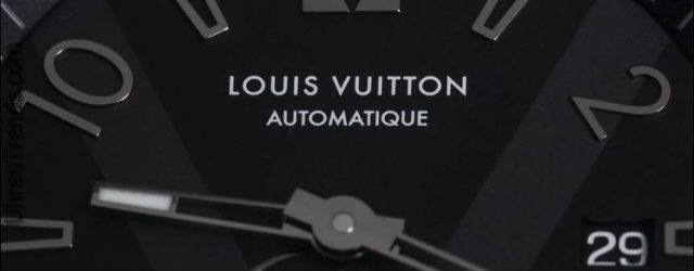 Louis Vuitton Tambour Alle Schwarz Petite Seconde Uhr Hands-On